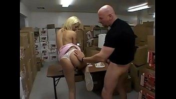 secretary banged by xxnxxx worker in a warehouse