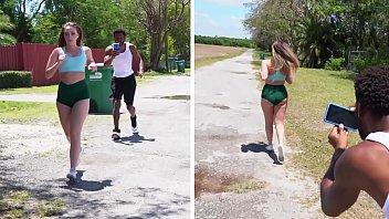 bangbros xxxxxxxx - y. harley jade goes for a jog and someone follows her