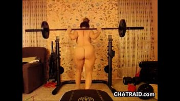 pretty girl works out naked sleeping girls while naked