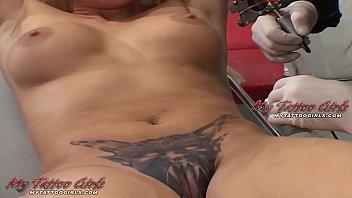 extreme nicole aniston blacked model alira astro gets her pussy tattooed