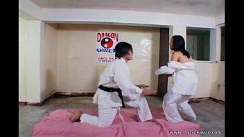 filipina slut fucked hard radwap after karate