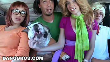 bangbros - halloween with jada stevens in nude daughter a big ass haunted mansion