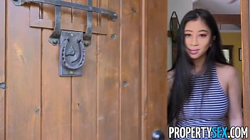 propertysex - real estate xxxxn agent with big natural tits fucks client