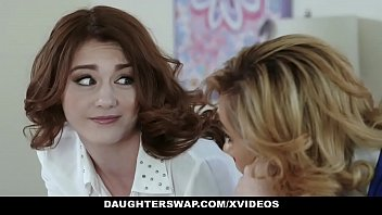 daughterswap - two hot daugthers piper palmer rosalyn sphinx get xvedies fucked by their slutty moms