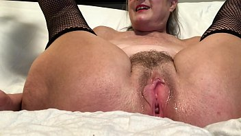 horny wife spreads her pussy and mp4porn masturbates with her favorite toy