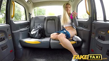 fake taxi hot blonde sophia grace sex uporm toy turns on in cab
