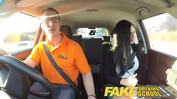 fake driving school male learner fucking his female sex viedo driving examiner