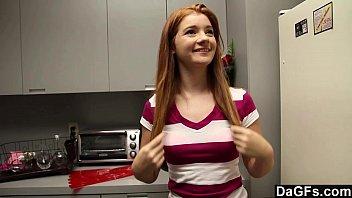 redheaded teen gives school xxx perfect blowjob