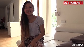 letsdoeit - the www com sexx thrill of the chasing orgasm with hot asian teen may thai