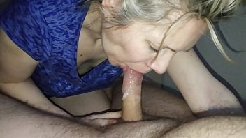 hanysy hot 43 year old milf is bf fucking gf doing a blow job cum in mouth