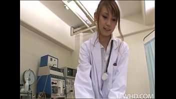horny nurse ebihara arisa gives her male patient an bro sis sex unusual sexual exam