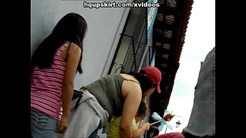 see forced to eat pussy up skirt of hot ass latin babe
