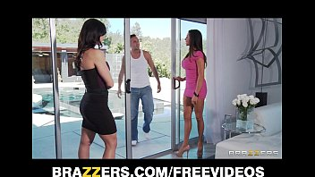 two big-tit brunette milf s seduce and fuck xxvideo their poolboy