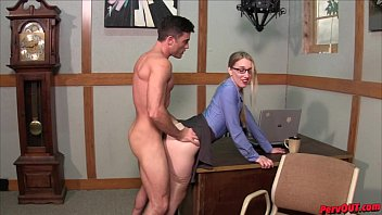 hot boss riley reyes makes lance hart pronxxx eat her creampie after sex