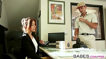 babes - office obsession - ryan driller isabella de santos - xxx picture special delivery
