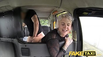 www sunny leon sex vedio com fake taxi blonde milf gets surprise anal sex and rims the driver