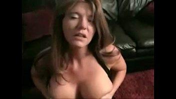 big tit xxx po milf sucks and fucks on the couch