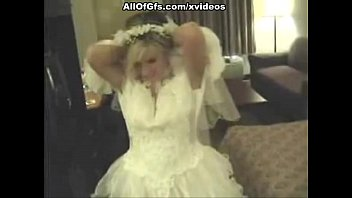 girl in wedding dress sucks a indian prone vedios cock and strips