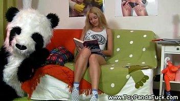 teen vidios porno girl loves her sexy book