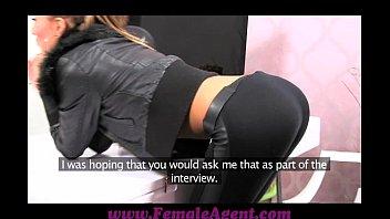 femaleagent sexil66 casting creampie for teasing agent