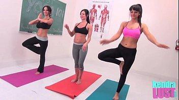 kendra sexi pron video lust teaches yoga
