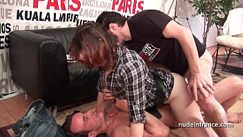 hard casting french redhead analized and double penetrated with a ynxx good facial