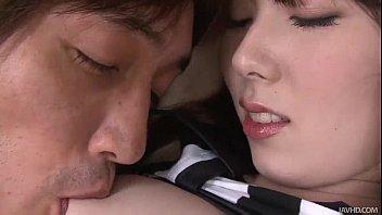 huge sex grils ball shaped vibrator with nubs is used on ramu nagatsuki