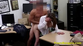 foxy peeing nude milf bargains with her tits and pussy
