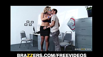 big-tit blonde ava taylor anal lawyer nikki sexx is rammed in the ass at work