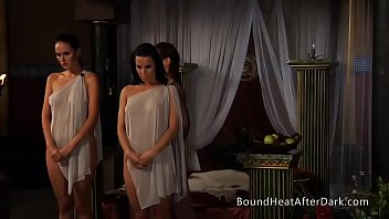 lesbian slave s r. standing wwwxxxhd and waiting for punishment