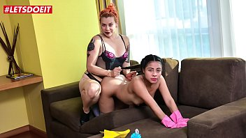 letsdoeit kenzie reeves victoria cakes - horny female dominatrix a. her petite latina maid