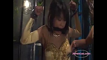 vidieo com jl011-slave-asian-girls-standing-with-tied-arms-mouthgagged-getting-her-body-licked-nipples-sucked-w