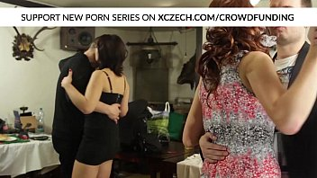 sexy 19 com wedding orgy with chubby girls who are hard fucked by big cocks