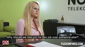 she wants a job and likes it up pronmd her ass