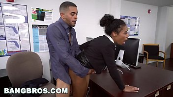 bangbros - big tits ebony babe ivy xxxx vidios young gets ahead in the office