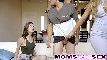 momsteachsex - pornotube my bf caught and punished by step-mom