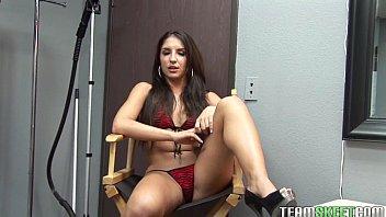 thisgirlsucks small porn star v tits latina teen giselle leon handjob blowjob