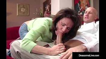 naughty wife deauxma gets free advice for sex from pornhubmom tax man