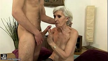 group xxx sexy blonde mature fucking and sucking a young guy