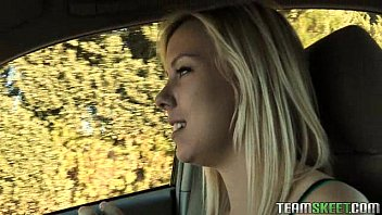 stunning blonde babe blows www xvideo download com cock after trying out a dress