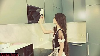 zxvideos helpless maid got stuck and desperately called for help - natalissa