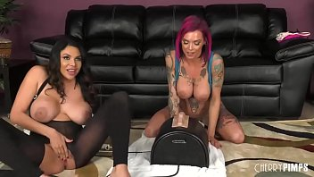 missy martinez and anna bell nude pole dance peaks are one naughty pair