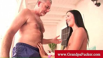ashli orion lickes it before sticking nigeria blue film it in her