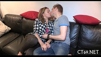juicy wench jumps on real xxx hard strapon
