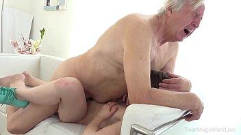 old-n-young.com - luna rival - old man www xxvi video 2018 makes sweetie kneel