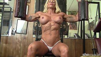 pro female bodybuilder big tits ponofilm nice pussy