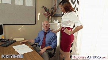 stockinged babe serena pon sex ali fuck in the office