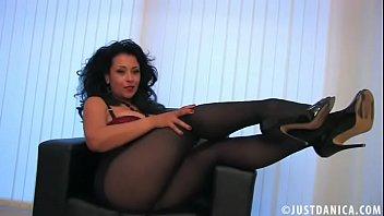 danica collins donna ambrose rachel bernard porn playing in pantyhose