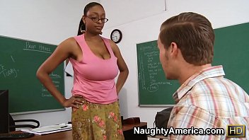 naughty america - find your fantasy teacher carmen hayes fucking in the desk with sexi nangi photo her big ass
