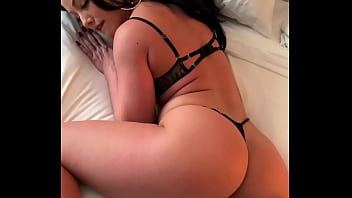 hot xxx bp brunette gave all 3 holes to a hung hotel concierge